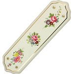 Floral Chintz ceramic finger plate